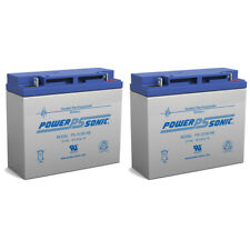 Power-Sonic 12V 18AH SLA Battery Replacement for APC Smart-UPS SUA1500I - 2 Pack
