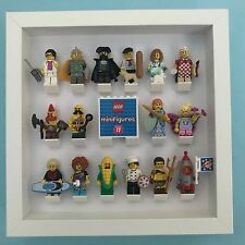 LEGO Minifigure Display / Case / Storage / Frame Series 17 for Complete Full Set