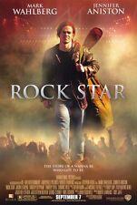 ROCK STAR Movie POSTER 27x40 Mark Wahlberg Jennifer Aniston Timothy Olyphant