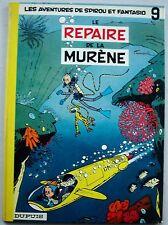 Spirou et Fantasio T 9 Le Repaire de la Murène FRANQUIN éd  Dupuis 1973