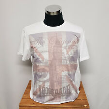 Lonsdale Men Tee Hetton white 115526 T-Shirt Herren weiß Union Jack London Gr XL