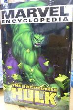 Marvel Encyclopedia: The Hulk (2003, Marvel) Brand New Factory Sealed Hardcover