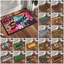 Non Slip Door Mats Rubber Backing Indoor Washable Absorbent Entrance Rug Doormat