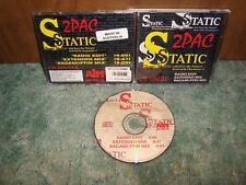 2PAC  STATIC  PROMO SINGLE CD  AUSTRALIA  3 TRACK  TUPAC SHAKUR