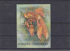 MADAGASCAR 1994 POISSONS AQUARIUM BF YT 97 OBLITERE