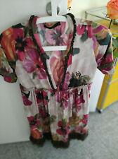 Twin-Set Simona Barbieri Damenkleid mit floralem Muster Gr. M