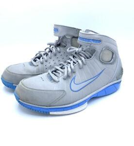 🔥🔥 Nike Air Zoom Huarache 2K4 Men's Sz 8 Wolf Grey Blue Kobe Bryant 308475-002