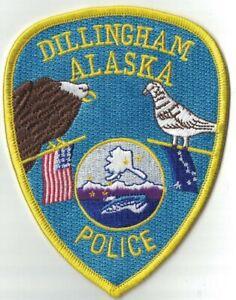 Dillingham Police Alaska AK Patch