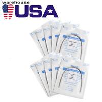 USA 10 Bolsas AZDENT Dental Arcos de Ortodoncia Redondos Niti Arco de Alambre Su