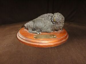 Cary Clawson - Bison - Bronze Sculpture - #12 of 35 made - RARE