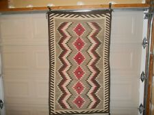 NAVAJO INDIAN RUG CIRCA 1920 VINTAGE BEAUTIFUL NOT USED ON A FLOOR DECOR ONLY