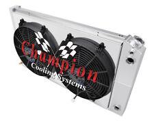 "3 Row Perf Radiator 17x28"",14"" Fans,Shroud,1.5,1.5-1968-1977 Chevelle LS Swap"