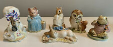 Vintage Adorable Beatrix Potter Figurines - Excellent, 6 to Choose From