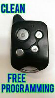 CLEAN CRIMESTOPPER KEYLESS ENTRY REMOTE CONTROL TRANSMITTER FOB Q6WBT0002