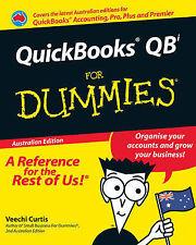Quickbooks QBi For Dummies by Veechi Curtis (Paperback, 2008)
