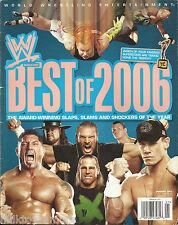 WWE Wrestling Magazine January 2007 Best of 2006 John Cena Jeff Hardy Batista