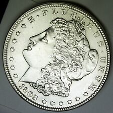 1903-p Morgan Silver Dollar Choice BU      (Inv-A)