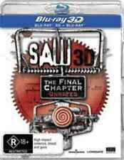 Saw 7 - The Final Chapter 3D : NEW 3D + 2D Blu-Ray