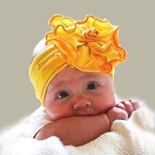 Niños Del Bebé Cinta Flores Pétalos Pelo Niñas Joyas para el amarillo naranja