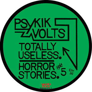 """Psykik Volts -  'Totally Useless'  7"""" pic disc *PUNK*"""