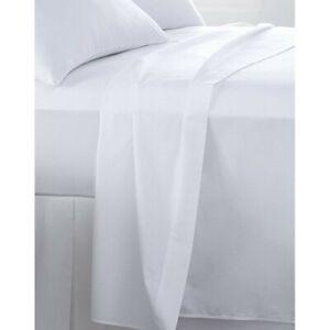 Egyptian 100% Cotton Plain White Crisp Feel 250 Thread Count Smooth Bed Linen