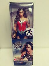 DC Justice League WONDER WOMAN Posable Action Figure Barbie Doll NIB