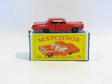 Matchbox Lesney #22c - Pontiac G.P. Coupe - Made in England (1965-69)