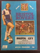 Bristol Rovers v Bristol City, GFA Cup Final, 5th May 1981