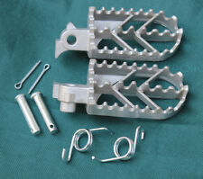 Stainless Steel Foot Pegs For Honda CRF50 70 80 CRF100 CRF150 Bikes SSR SDG DHZ