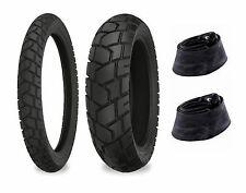 90/90-21 & 120/80-18 Shinko 705 Tires & Tubes XR250L, CRF250L, KLX250S, DR350S
