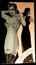 Vintage Nubone Nu Bone Corset Ad Brochure beautiful women model Roth Richland PA