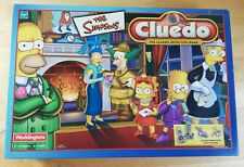 THE SIMPSONS CLUEDO EDITION 2001 WADDINGTONS (near complete)
