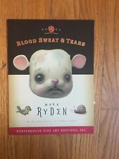 "Mark Ryden Micro Portfolio of Three Cards ""Blood Sweat & Tears From 2004"