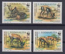 Somalia (J. Soomaaliya) - Michel-Nr. 436-439 postfrisch/** (WWF Wildtiere)