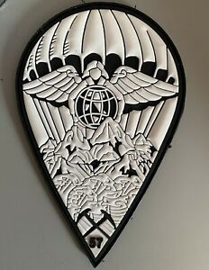 57th Rescue Squadron (RQS) 2020 Winter Patch USAF on hook and loop.