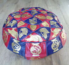 Leather Vintage/Retro Ottomans & Footstools