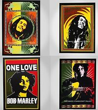100 PC Wholesale Lot Cotton Handmade Bob Marley Wall Hanging Indian Tapestries