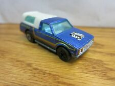 1979 Dodge Hot Wheels Blue Pick-Up White Canopy Malaysia