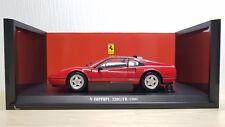 1/18 Hot Wheels Kyosho 1988 Ferrari 328GTB 328 GTB RED diecast car model MINT