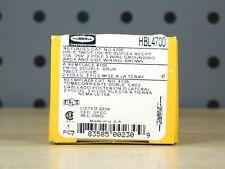 Hubbell HBL4700 Twist Lock Duplex Receptacle