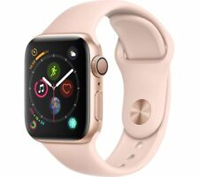 Apple Watch Series 4 GPS 40mm Gold Aluminium Case With Pink Sand Sport Band