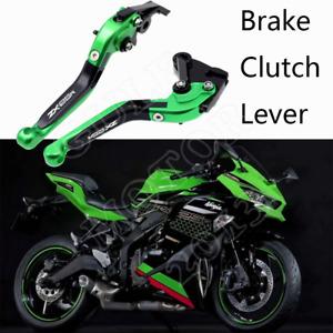 CNC Brake Clutch Levers Folding Extending Fit For Kawasaki Ninja zx25r 2020-2021