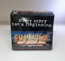 Smallville Season One, Season 1 - Sealed Trading Card Hobby Box - Inkworks 2002