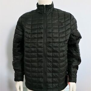 THE NORTH FACE Thermoball Men's Full Zip Jacket TNF BLACK  sz SMALL