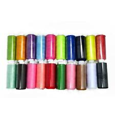 24PCS/Set Mixed Color Spool Polyester Sewing Machine Thread Cord String Reels