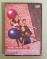 sissel  SWISS EXERCISE BALL instructional  DVD NEW