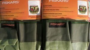 Fiskars Brand Bucket Caddy (2) Convert 5 Gallon Bucket into Handy Tote Organizer