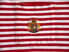 VINTAGE POLO Ralph Lauren mens XL striped polo shirt CROWN CREST made in USA