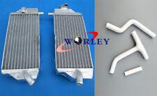 For Yamaha YZF250 YZ250F 2010 2011 2012 2013 Aluminum Radiator + Silicone Hose