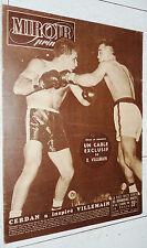 MIROIR SPRINT N°183 1949 BOXE VILLEMAIN FOOTBALL FRANCE-YOUGOSLAVIE 2-3 RUGBY